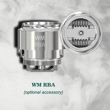 Orijinal Wismec WM RBA Elektronik Sigaralar için Bobin Kafa Değiştirme Evaporatör Reuleaux RX GEN3 GNOME Atomizer Tankı