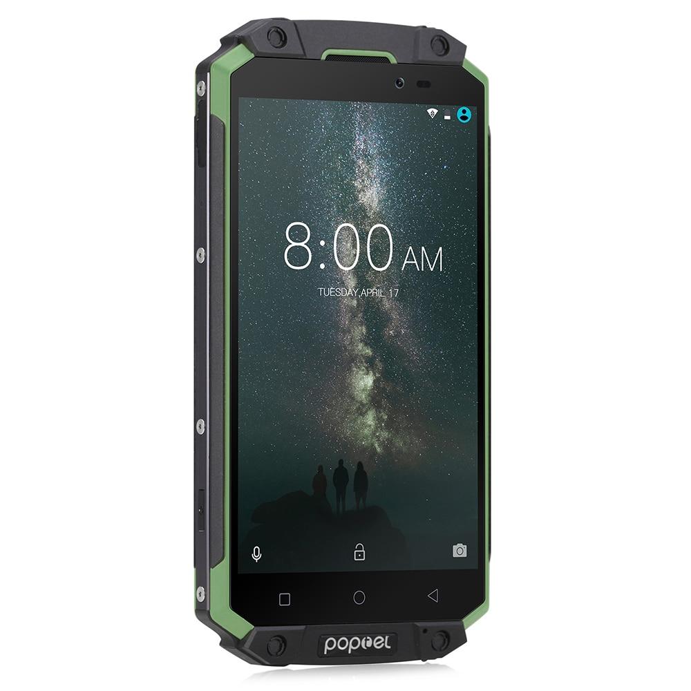 Poptel P9000 MAX 4g Smartphone IP68 MTK6750V Octa Core 4 gb 64 gb Impermeabile Shockproof Del Telefono Mobile 9000 mah grande Batteria Esterna