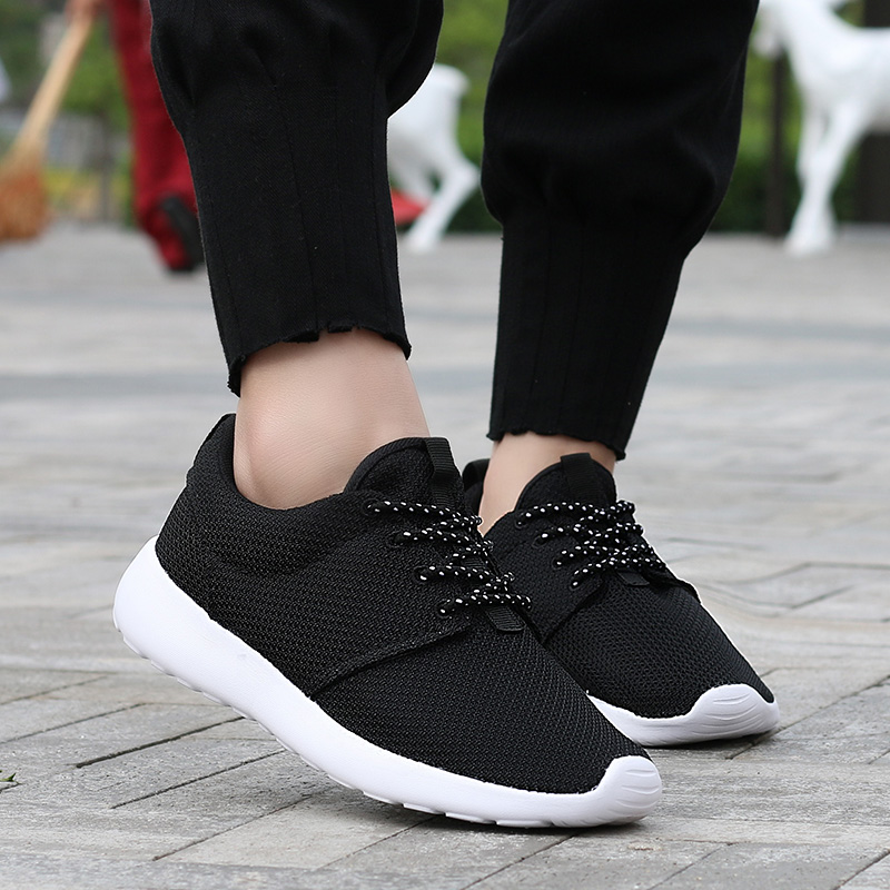 CASMAG Classic Men and Women Sneakers Outdoor Walking Lace up Breathable Mesh Super Light Jogging Sports Running Shoes 23