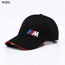 220127d60aef1 Men Fashion Cotton Car logo M performance Baseball Cap hat for bmw M3 M5 3 5
