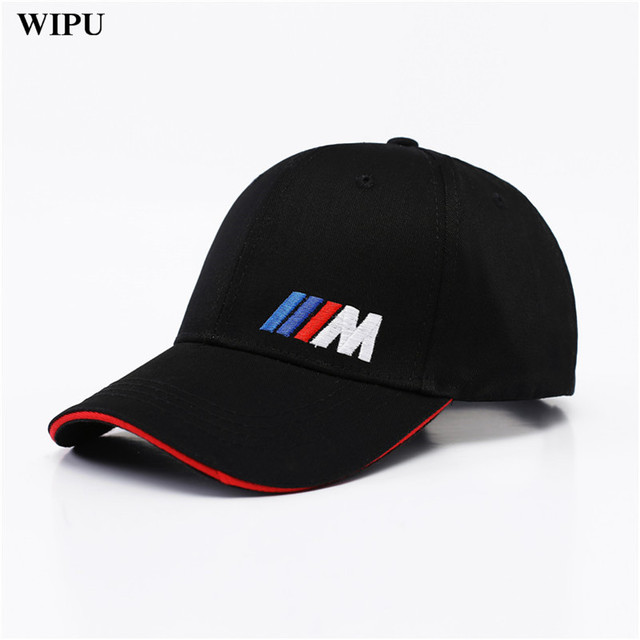 men fashion cotton car logo m performance baseball cap hat. Black Bedroom Furniture Sets. Home Design Ideas