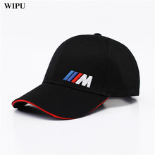 Men Fashion Cotton Car logo M performance Baseball Cap hat for bmw M3 M5 3 5 7 X1 X3 X4 X5 X6 330i Z4 GT 760li E30 E34 E36 E38