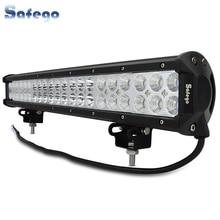 цена 20 inch 12V 126W led work light bar for offroad  trucks tractor ATV spot/flood/combo 4X4 126W led light bar light bar led онлайн в 2017 году