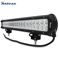 Safego 20 inch 126W Led Light Bar Offroad 12V 4X4 Trucks Tractor ATV 126W Led Work Lights Bar for Car Led Light Bar Off Road