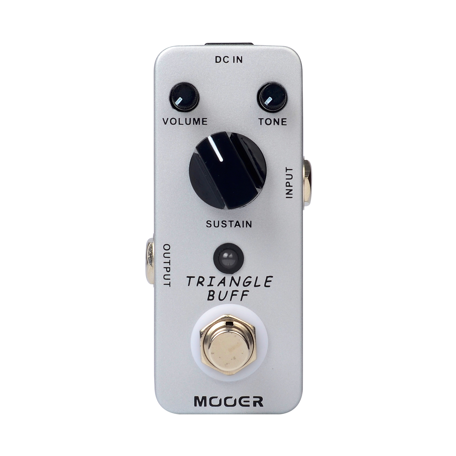 Mooer Triangle Buff Fuzz Electirc Guitar Effect Pedal True Bypass Mini Effects MFZ2 mooer ensemble queen bass chorus effects effect pedal true bypass rate knob high quality components depth knob rich sound