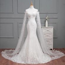 HIRE LNYER Vestido De Noiva Sereia Mermaid Wedding Dress