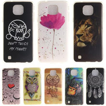 Phone Cases For coque LG X Cam K580 K 580 580DS DS K580DS Case Owl Tiger Printing Soft Silicone TPU Back Cover For LG X-Cam D337(China)