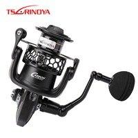 Tsurinoya TSP4000 5000 Spinning Reel Fishing 5.2: 1 12BB Max Arraste 12kg Roda Carretel de Peixe de Metal cheia Molinete De Pesca Da Carpa Carretel|carp reel|fishing reel|max drag -