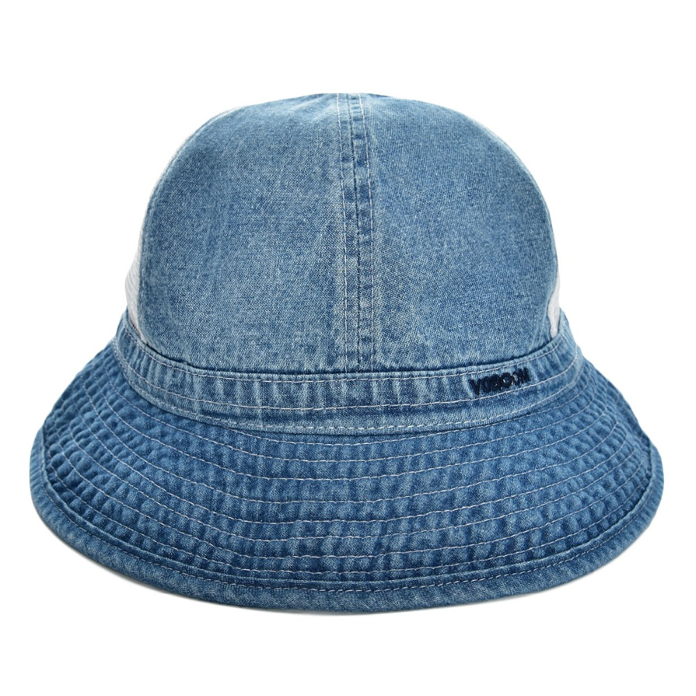 4aa37dc906389 Summer Sky Blue Panama Bucket Hat Men Boy Wide Brim UV Protection Cap  Fisherman Hats Camouflage Male Japanese Travel Caps 135-in Bucket Hats from  Apparel ...