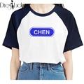 Exo корейский harajuku майка летом свободного покроя Большой размер пара одежда для печать в паре футболка 2016 с коротким рукавом футболки для женщин топы