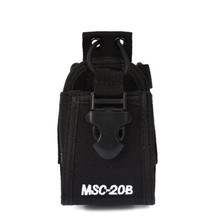 Walkie Talkie Accessories MSC-20B holder Case radio bag Pouch for Baofeng UV-5R UV5R Plus UV5RA UV5RE UV5RB UV5RC