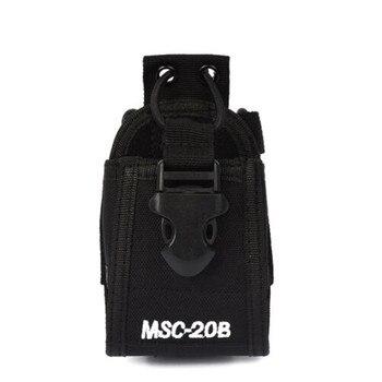 цена на Walkie Talkie Accessories MSC-20B holder Case radio bag Pouch for Baofeng UV-5R UV5R Plus UV5RA Plus UV5RE Plus UV5RB UV5RC