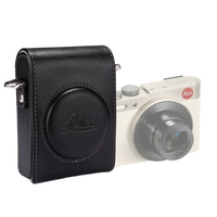 PULUZ For Leica C Cover Full Body Camera PU Leather Case Bag With Strap For Panasonic