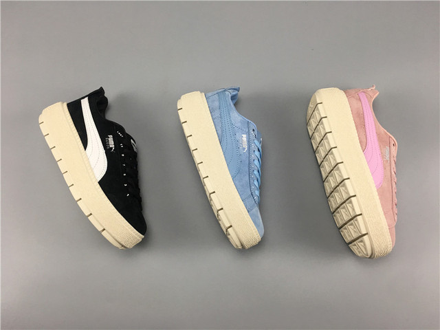 9e77a376a2e7 2018 New Arrival Puma Fenty by Rihanna series of classic haint Suede  Sneakers Women s Badminton shoes Size 35.5-39