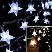 100Leds 10M Christmas Outdoor Fairy String Lights Wedding Garden Luces Led Navidad Indoor Light Curtain String Decorative Lights