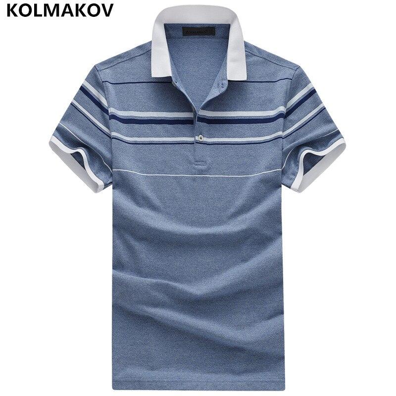 2019 KOLMAKOV Brand   Polo   Shirt Men Slim Fit Fashion Casual Camisa   Polo   Homme Man Poloshirt Golftennis Sportwear Big Size