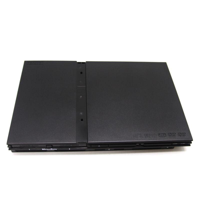 Jietron hele sættet er sort 7000X fuld hus shell shell til PS2 konsol med gratis forsendelse.