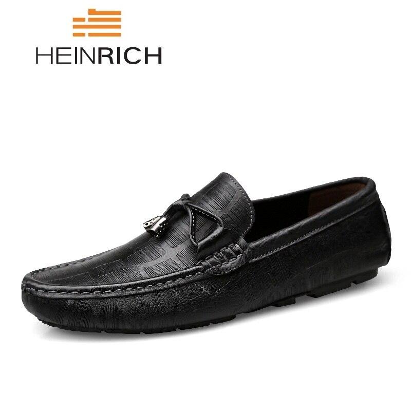 Il Zapatos Mocassini Uomini Scarpe Heinrich Genuino