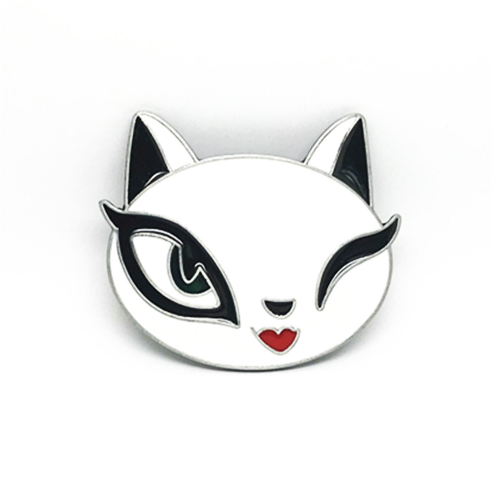 INCH DRESS Cute Cartoon Fox Zinc Alloy Belt Buckle Dripping Oil Fashion Accessories Button For A 4.0 Belt.