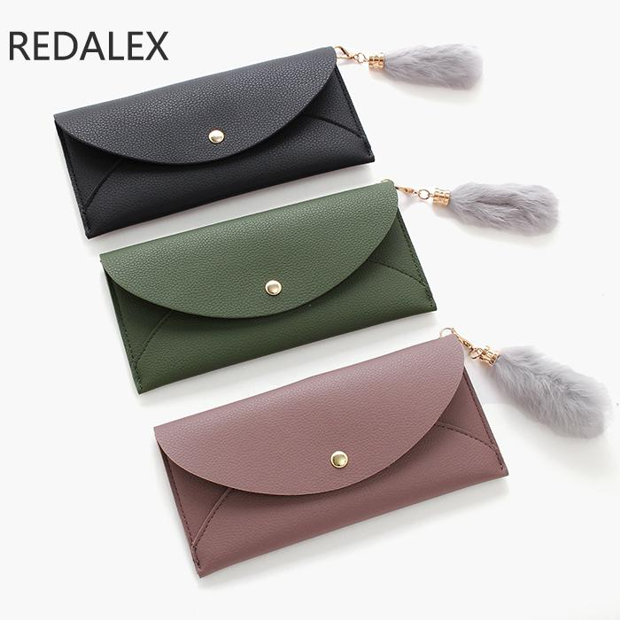 Redalex Ultra Thin Wallet Women Minimalist Female Clutch Purses Money Bag Walet Pocket Vallet Womens Wallets Carteira Feminina