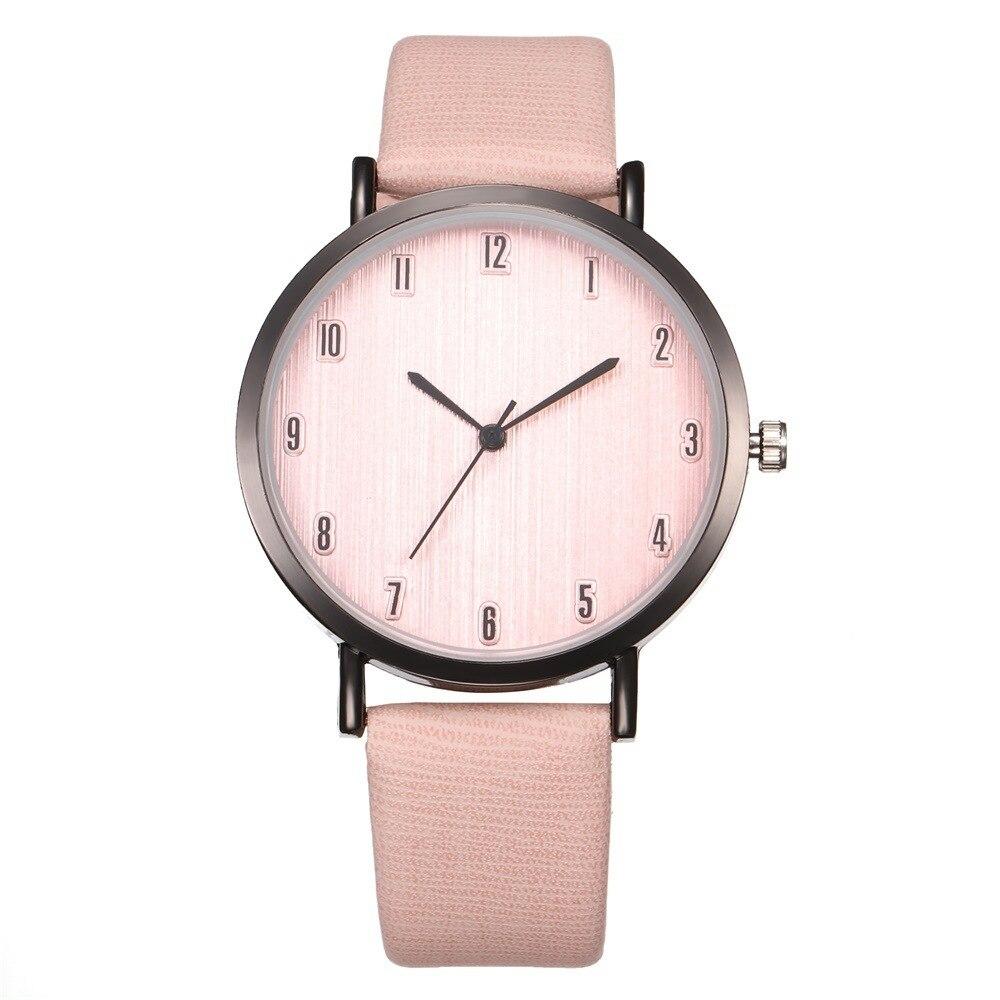 New Minimalist Classic Quartz Watch Student Couple Fashion Spike Glass Belt Quartz Watch Couple Leisure Simple Watch