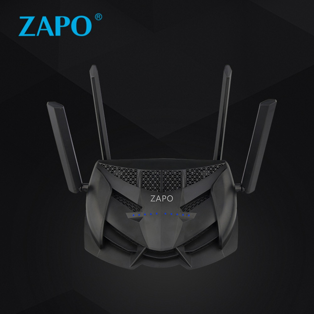 1200Mbps Dual Band USB Wireless Network AC 2.4GHz/5GHz Gaming Router Intelligent Repeater US EU Plug tenda ac6 wireless wifi router 1200mbps 11ac dual band wifi repeater 802 11ac wps wds app control pppoe l2tp eu us ru firmware