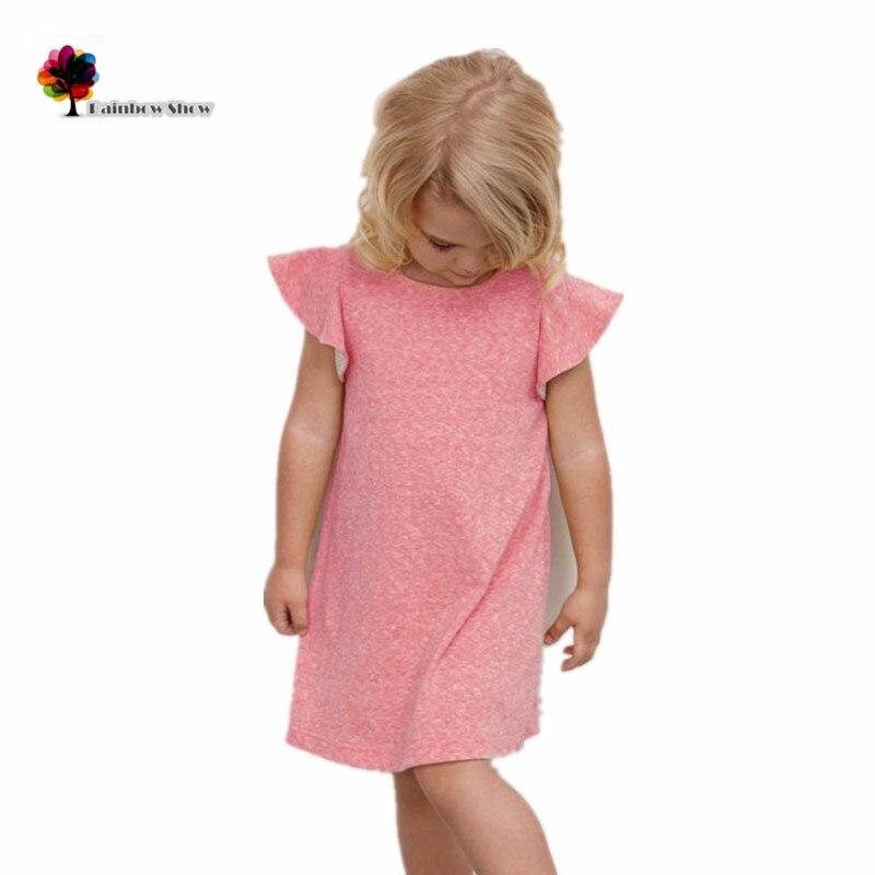 GGOGGIRI Marca New Girls Summer Fashion Pink Quality Cotton Tejido - Ropa de ninos