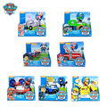 Genuine Paw Patrol RESCUE RACERS Skye Ryder chase marshall rocky zuma rubble Everest Tracker Vehicle Figure toy Free Delivery