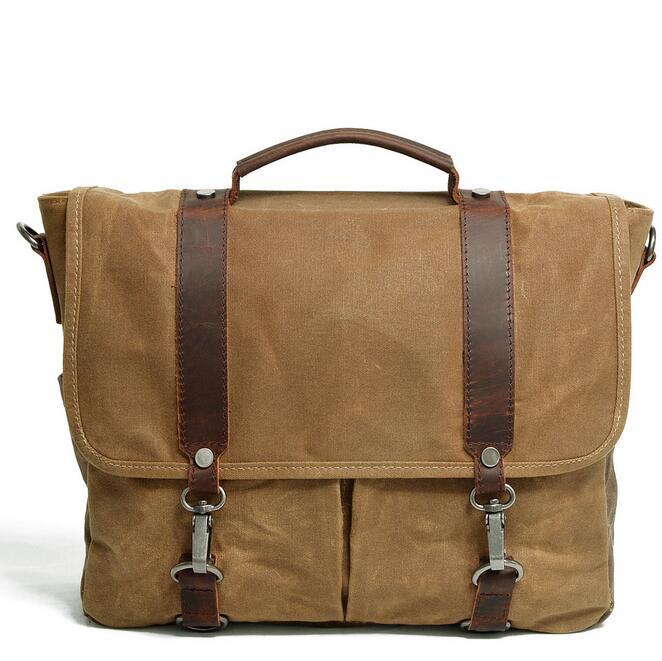 082117 yesetn bag men canvas single shoulder cross body tote bag