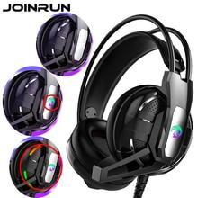 Joinrun auriculares estéreo, por Internet, para videojuegos, con micrófono, para PC, juego para teléfono móvil