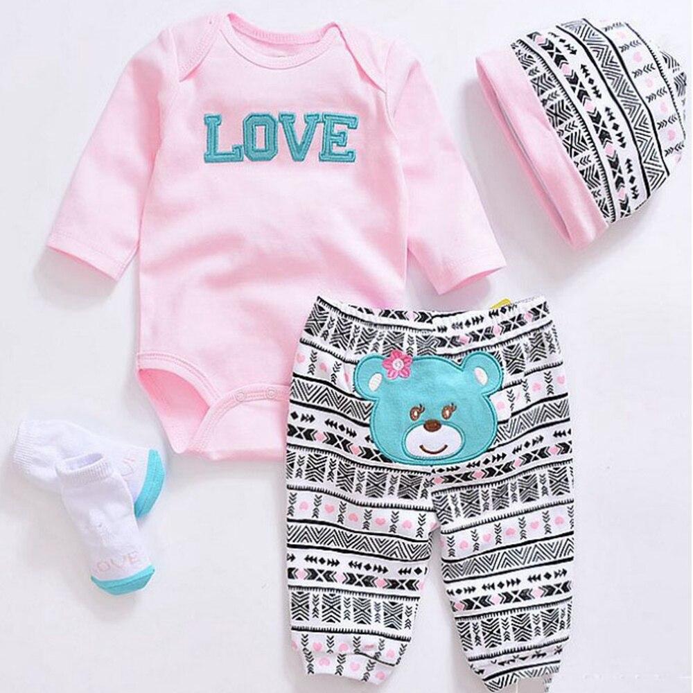 Artesanal 1 conjuntos de silicone reborn bebê boneca acessórios moda roupas adequadas para 22 Polegada 50-55cm boneca reborn crianças presente