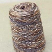 Lot of 1 Pieces x 500g Hand Coarse Knitting Scores wool yarn Dark Bronze White Cool Grey 522 5832