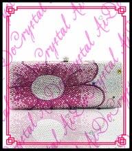 aidocrystal 2016 heißer verkauf frau rosa blume handtaschen mode partei kupplung tasche für mädchen