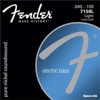 Fender 7150's pure nikkel rond omwonden lange schaal elektrische basgitaar strings-7150xl 7150l 7150 ml 7150 m