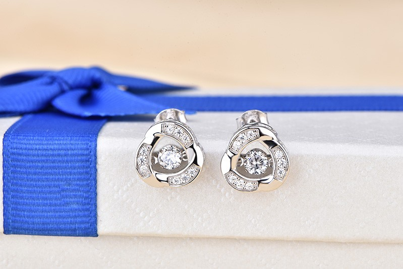 925 sterling silver earring for women classical jewelry DE77720A (4)