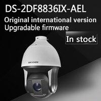 Em estoque versão inglês DS-2DF8836IX-AEL substituir DS-2DF8336IV-AEL 8MP IR Rede Speed Dome com Zoom Óptico de 36X não limpador