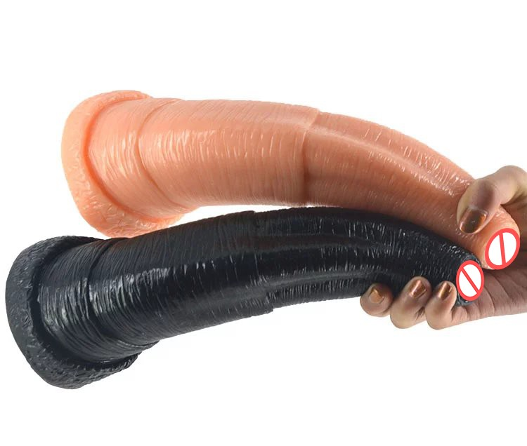 large black big dildo animal penis elephant dildo artificial penis male female anal plug woman couples masturbation sex toys 5