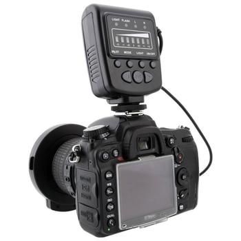 Led macro ring flash light with 7 adapter ring for canon nikon olympus pentax digital dslr camera