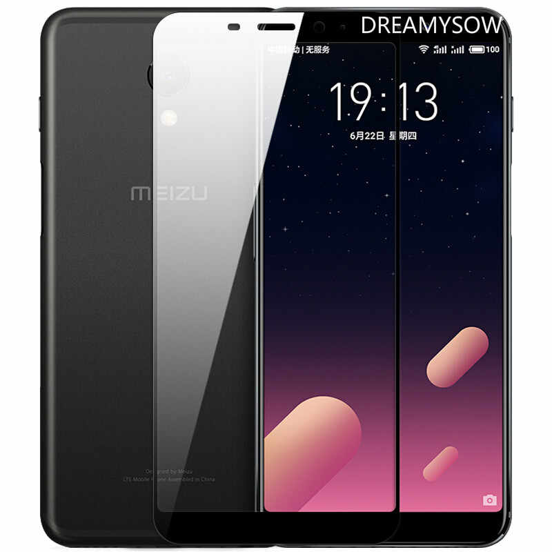 Tempered Glass For Meizu M6T M15 Pro/Lite M6S 6 7 Plus MX6 M5S M6Note Anti-Explosion Full Cover Screen Protector Film