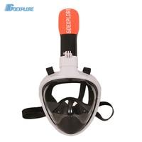 Goexplore Diving Mask Underwater Scuba Anti Fog Full Face Women Men Child Swimming Snorkel Mask Diving Equipment For GoPro