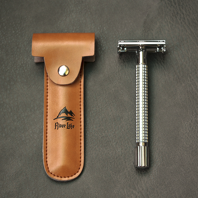 Conscious Hygiene Stainless Steel Reusable Silver Manual Razor