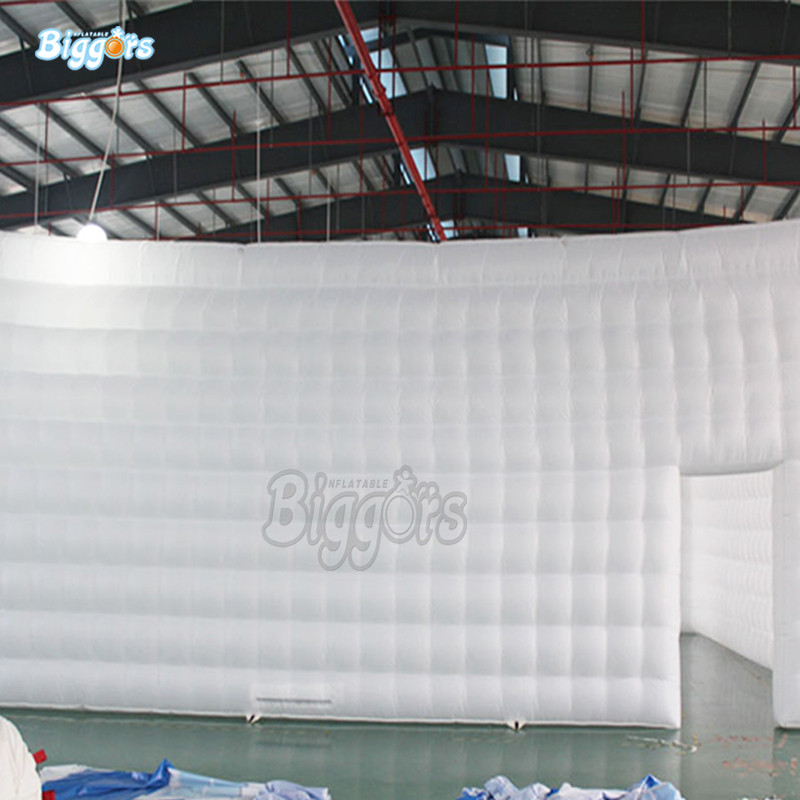 Inflatable Tent House Air Inflated Structure Giant Square Inflatable Tent With Blowers