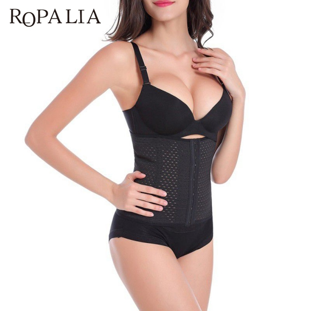 db13925585 ROPALIA Waist Trainer Shapers Good Quality Control Corset Girdles Shapewear  Waist Belt Plus Size Body Shaper
