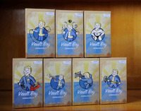 Full Set 7Style 15cm Fallout 4 Vault Boy Bobbleheads Series 1 PVC Action Figure Toy