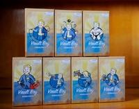 Full Set 7Style 15cm Fallout 4 Vault Boy Bobbleheads Series 1 PVC Action Figure Toy