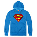 Fashion Brand Superman Hoodies Men Casual Sportswear Man Hoody Long-sleeved Sweatshirt Men Plus Size Slim Fit Clothing