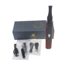 Jstar vaporizer Titan I kits dry herb vaper electronic cigarette 1 temp contorl 2200mah herbal vape pen Wax