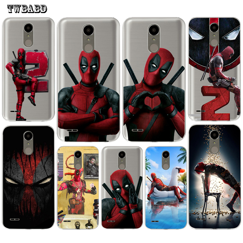 For LG Q6 Q8 G4 G5 G6 K4 K7 K8 <font><b>K10</b></font> 2017 X Screen Power 2 <font><b>Phone</b></font> <font><b>case</b></font> Cool Deadpool Super hero TPU <font><b>case</b></font>