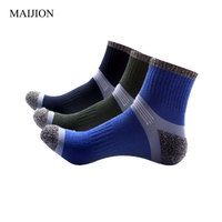 MAIJION 3 Pairs Lot All Season Breathable Casual Men S Socks High Quality Soft Wicking Fashion