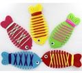 Crianças Brinquedos Diy Handmaking Artesanato Fácil Não-Tecido de Pano Brinquedos Dos Miúdos Dos Peixes Criança Atividade Criativa DIY DY22